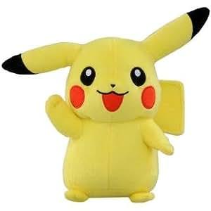 Pokemon Plüsch Pikachu Schwarz+Weiß Edition 16cm