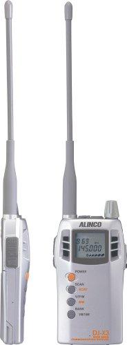 ALINCO 広帯域受信機 コミュニケーションレシーバー DJ-X3