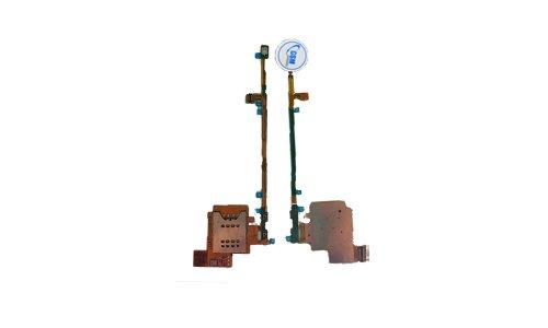 Sim Card Holder Reader Tray Socket Slot Flex Cable für Sony Xperia MK16 i NEU!