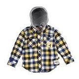 Kanz - Camisa con capucha de manga larga para niño, talla 152 - talla alemana, color naranja