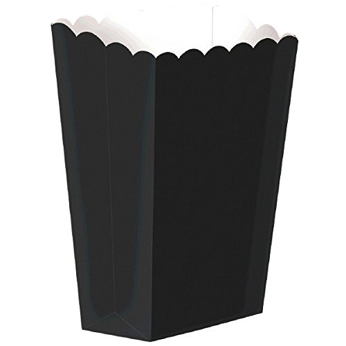 Carta di grande scatole nere Popcorn