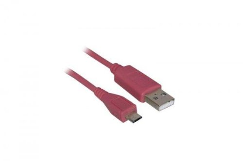20 Dat micro-USB Kabel (Pink) micro-USB Datenkabel (USB
