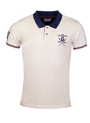 SELECTED HOMME -  Polo  - Uomo Weiß (Egret) XL