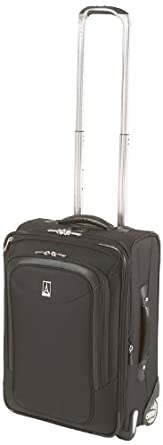 Travelpro Luggage Platinum Magna 20 Inch Expandable Business Plus Rollaboard, Black, One Size