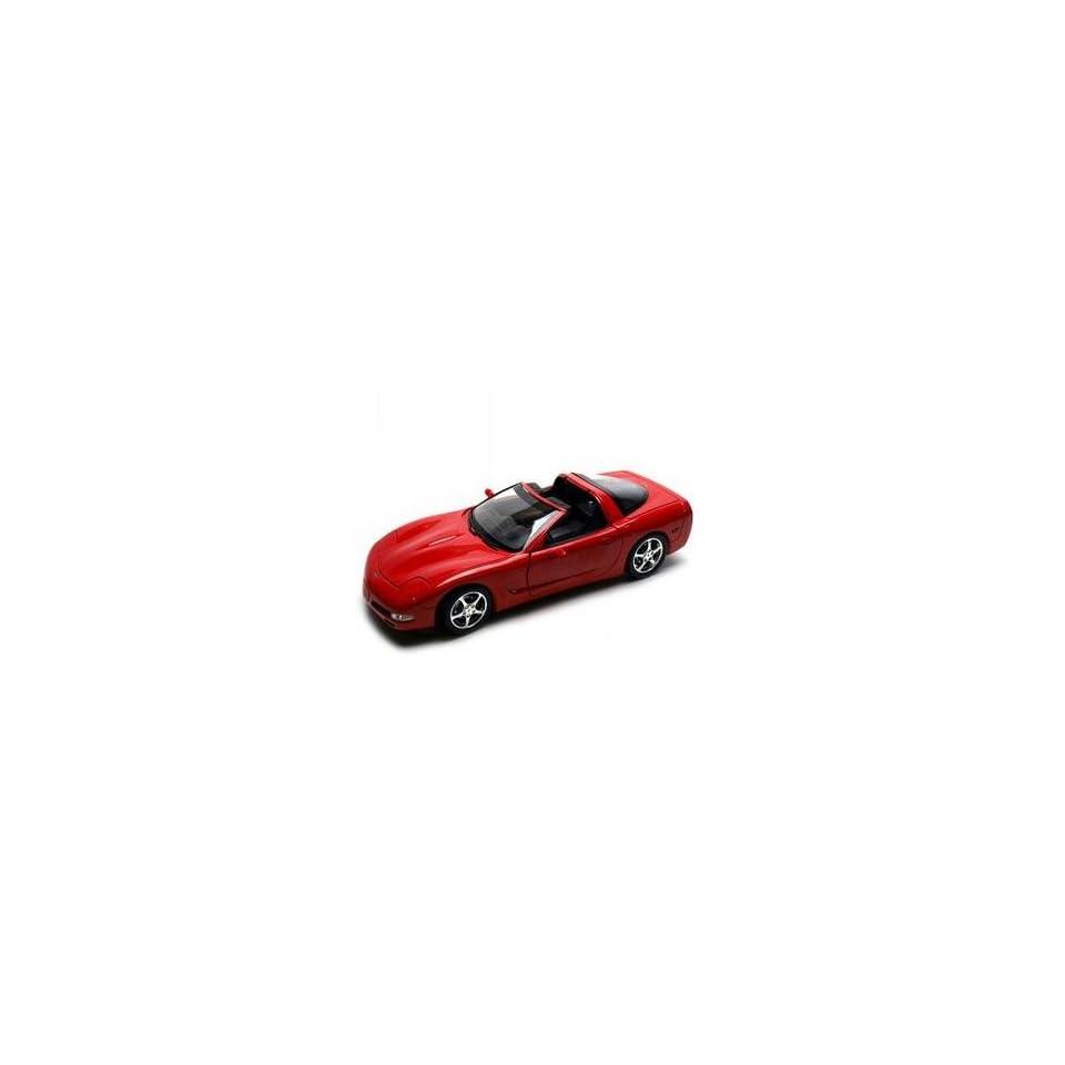 2003 Chevrolet Corvette C5 Coupe Red Diecast Car 1/18