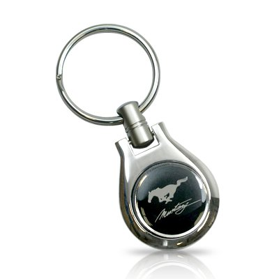 Ford Mustang Keychain Ford Mustang Running Pony Oval