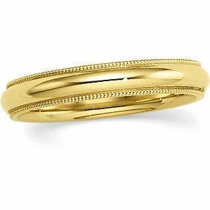 10K Yellow Engagement Ring