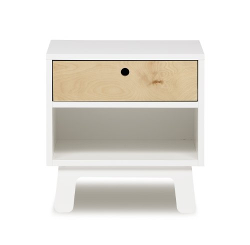 Discount oeuf sparrow night stand white price for Cheap white night tables