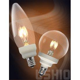 Ushio 1003702 - U-Led/0.6W/120V/2700/Globee12 Globe Led Light Bulb