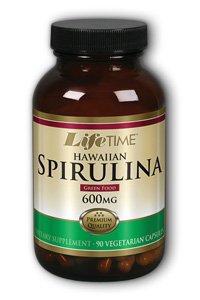Hawaiian Spirulina 600 Mg Lifetime 90 Caps