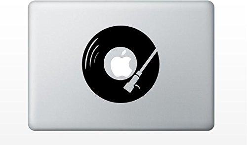 Macbook dj turntable decal sticker pro air 11 13 15 17 (Dj Turntable Mac compare prices)