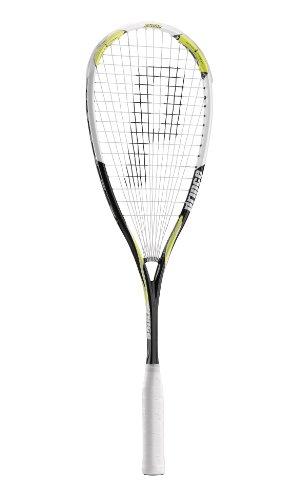 Prince Airstick 130 Tour Unisex Squash Racquet - Black/Yellow/Silver