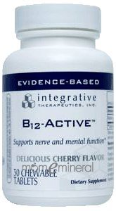 B12-Active CHERRY 30 Chewable by Integrative Therapeutics