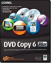 Corel DVD Copy 6 Plus [OLD VERSION]