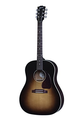 2016 Gibson Acoustic J-45 Acoustic-Electric Guitar, Vintage Sunburst Lacquer Finish