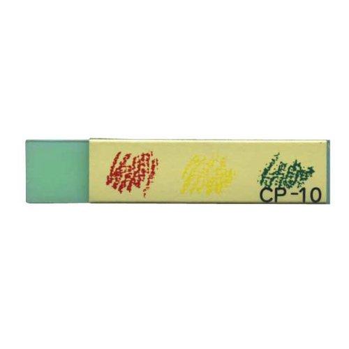 色鉛筆/軟らかい鉛筆用 消しゴム【グリーン】 CP-10 GR