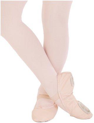 Capezio Little Kid/Big Kid Split Sole Daisy 205 Ballet Shoe,Ballet Pink,10 M Us Toddler front-1031737