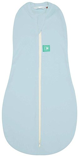 Baby Banz Newborn Ergo Cocoon Zipup Swaddle, Blue, 3-12 Months (Discontinued by Manufacturer) - 1