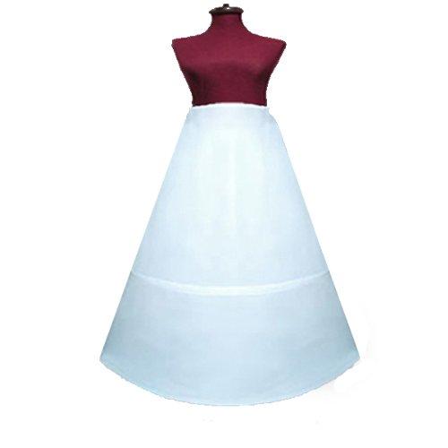 Cheap Partygaga 2 Hoop bone skirt Petticoat slip for Size from S ~ XL waist from 22