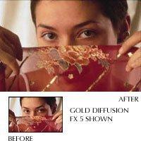 Tiffen 58GDFX3 58mm Gold Diffusion 3 Filter
