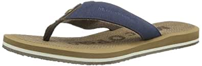 Marc O'Polo Thong Sandal 40322151801800, Herren Zehentrenner, Blau (dark blue 880), EU 44