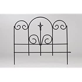Panacea Products Corp-Import 16X18.5 Blk Gdn Edge 89382 Garden Fencing