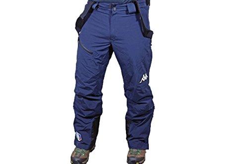 Kappa - 6CENTO 626A HZ FISI - Pantaloni Sci Unisex 2017- Blue Night- 303KDI0 903 (L)