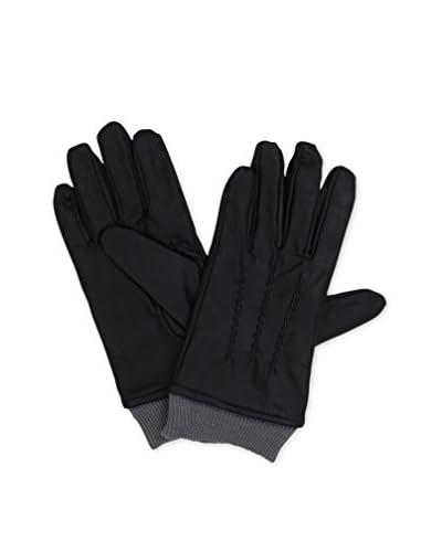 Geoffrey Beene Men's Knit Cuff Leather Glove