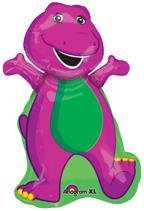 Barney Party Supplies MYLAR JUMBO BALLOON Birthday Dinosaur Decoration Favor