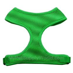 Dog Supplies Soft Mesh Harnesses Emerald Green X-Large