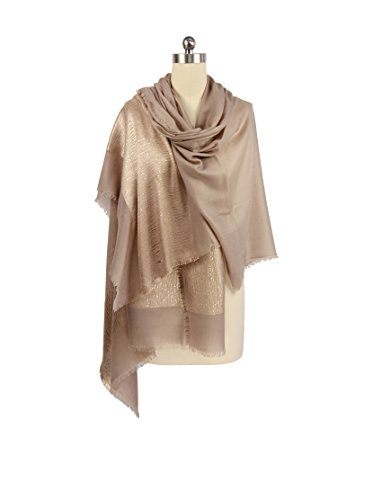 Saachi Women's Cashmere Scarf, Taupe