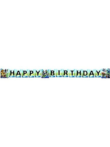 Ben 10 'Alien Force' Happy Birthday Banner (1ct)
