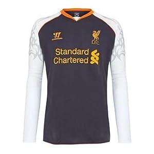 Warrior Liverpool Third Shirt 2012 2013 Long Sleev Purple Small