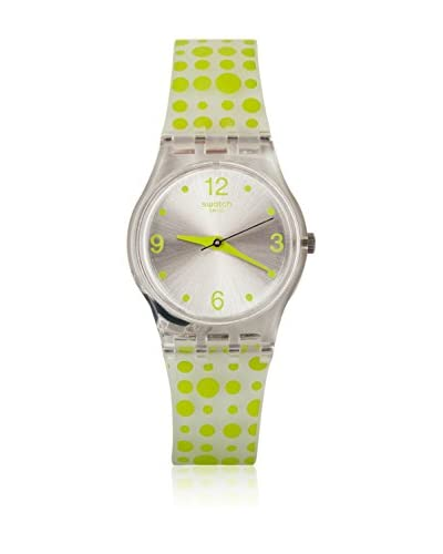 Swatch Reloj de cuarzo Woman GREEN DARLING LK315 25 mm