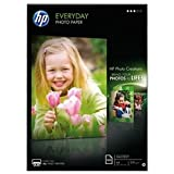 HP Q2510A Everyday Glossy Photo Paper-100 sht/A4/210 x 297 mm