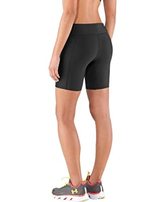 Under Armour Women's Authentic Long 7'' Compression Shorts