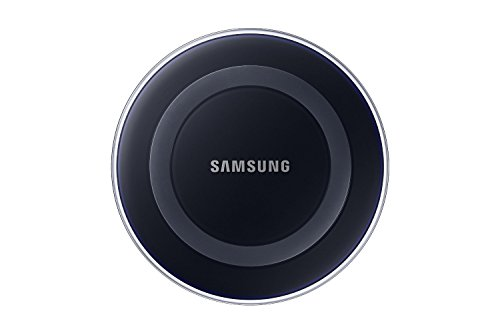 Samsung EP-PG920IBUGUS Wireless Charging Pad with 2A Wall Charger – Retail Packaging – Black Sapphire