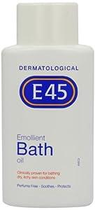 E45 500ml Emollient Bath Oil