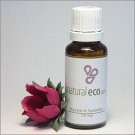 NaturalEco Organics Digesto-K Sprinkles For safe relief and prevention of heartburn and acid reflux during pregnancy