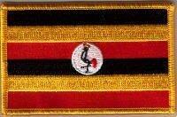 Parche Bordado Bandera Uganda - 9 x 6 cm   Comentarios de clientes y más Descripción