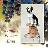Boston Terrier Wine Bottle Stopper