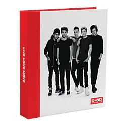 One Direction 1D + OD Together Group, 3 Ringed Binder from Office Depot
