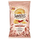 Walkers Sunbites Sun Ripened Sweet Chilli 6 X 25G