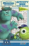 img - for Monsters University Activity Book Word Search Level 2 book / textbook / text book