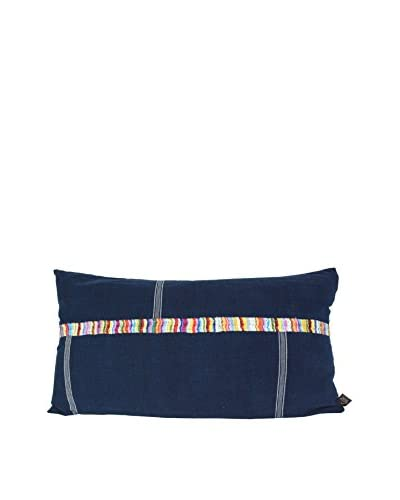 Uptown Down Colorful Pillow