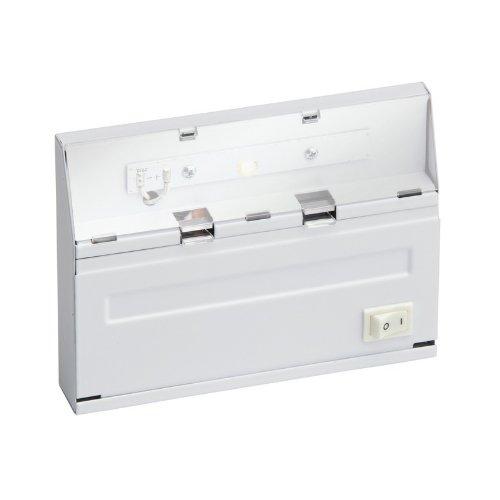 "Kichler 12055 Direct Wire 1 Light Led 3000K 6"" Under Cabinet Light, White"