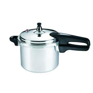 T-Fal Mirro 4-Quart Pressure Cooker with Polished Aluminum Exterior a