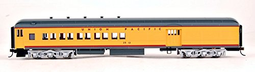 bachmann-industries-union-pacific-4-window-door-2512-72-heavyweight-combine-with-lighted-interior