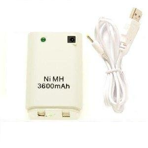 USB Cable + Battery Pack For XBOX 360 Controller