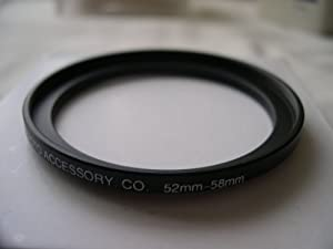 HeavyStar Dedicated Metal Stepup Ring 52mm-58mm